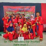 Tim Mimudaku Ukir Prestasi Juara Umum 1 Tingkat Karesidenan Pati