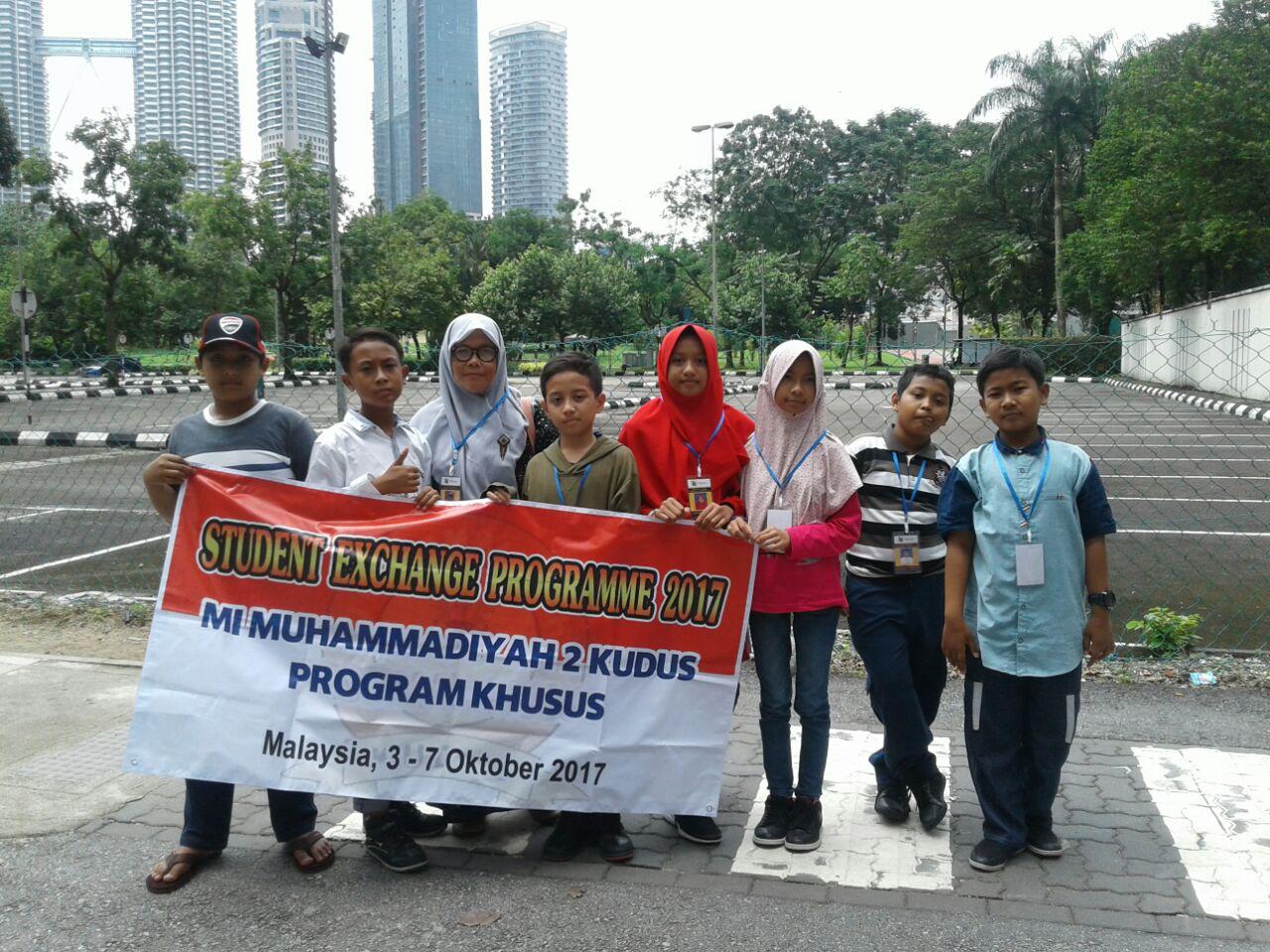 Mimudaku Ikuti Student Exchange di Malaysia