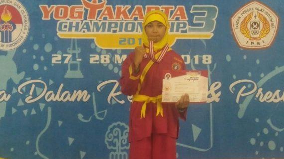 Mimudaku Sabet Medali Emas Pencak Silat Tingkat Nasional