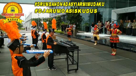 Penampilan Perdana Drumband Mimudaku #DjarumOasisKudus