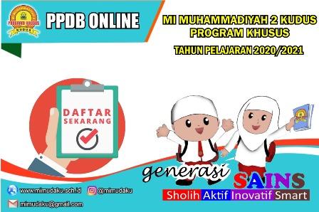 MIMUDAKU Membuka PPDB Online TP. 2020/2021